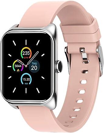 Watch Reloj Inteligente de Moda para Mujer Pulsera Encantadora Monitor de Ritmo cardíaco Monitoreo del sueño Smartwatch Connect iOS Android PK S3 Band: Amazon.es: Relojes