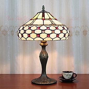Retro Tiffany-Lampen Beleuchtung Wohnzimmer Lampe Studie ...