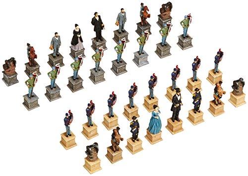 Civil War Chessmen