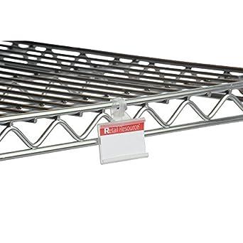 Amazoncom Retail Resource 1227087103 Wire Shelf Label Holders 3