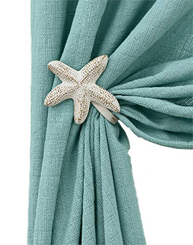 Pair of Starfish Curtain Tie Backs (Starfish 5