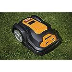Yard-Force-SA600H-Tagliaerba-semovente-con-Cavo-perimetrale-e-Display-a-sfioramento-Robot-a-Batteria-per-Prato-Fino-a-600m-d-50-W-28-V-Schwarz-Orange