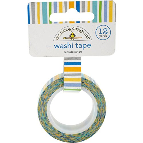 DoodlebugDoodlebug Washi Tape 15 mm X 12yd-Seaside altri