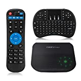 (US) Android Smart TV Box, T95V Pro Android 6.0 Amlogic S912 2GB ROM 16GB RAM Octa Core Dual WiFi 2.4G/5G Support 4K 1080P 3D BT Media Player with Mini Wireless Keyboard