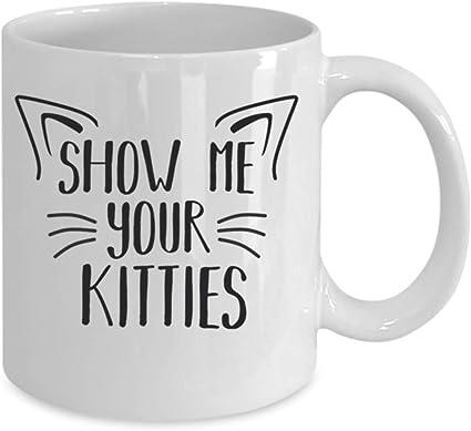 Regalos para los amantes de los gatos, tazas de café de 325 ml, regalo divertido con temática de gato para mamá, papá, mujeres, loca dama de gato: Amazon.es: Hogar
