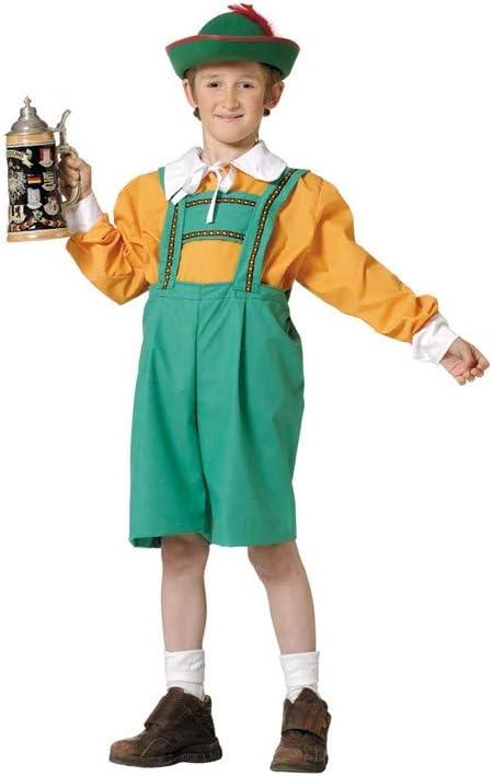 Disfraz tirolés niño. Talla 5/6 años.: Amazon.es: Productos para ...