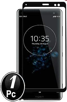 Sony Xperia XZ3 Protector de Pantalla, Scott-ES [Curvado 3D] Vidrio Templado Cristal Protector para Sony Xperia XZ3[X1-Negro]: Amazon.es: Electrónica