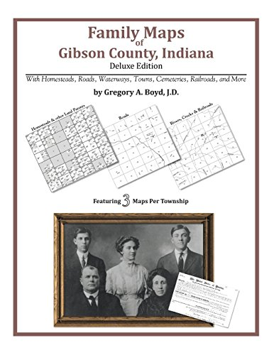 Family Maps of Gibson County, Indiana