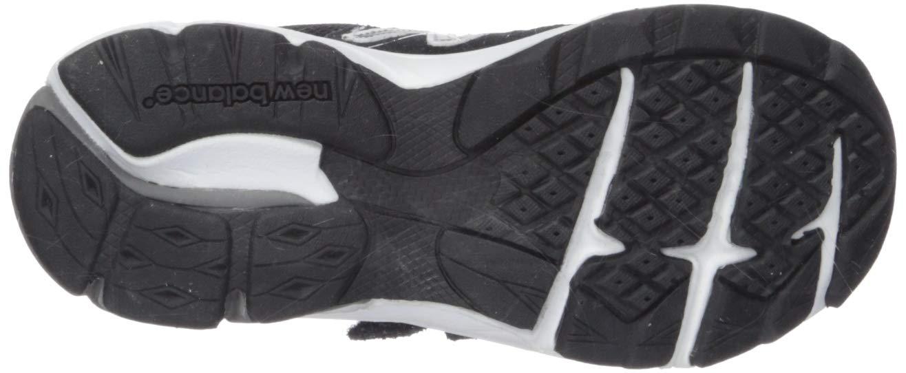 New Balance Boys' 888v2 Hook and Loop Running Shoe, Black/Grey, 2 XW US Infant by New Balance (Image #3)