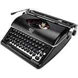 Classic manual typewriter black