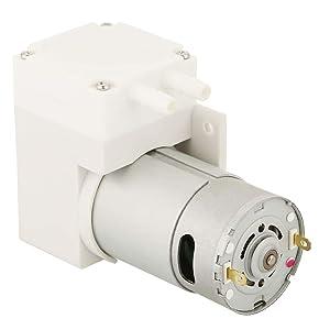 Mini Vacuum Pump, DC 12V High Pressure Electric Pump 70L/min -50Kpa Vacuum 50W Pump Air Compressor