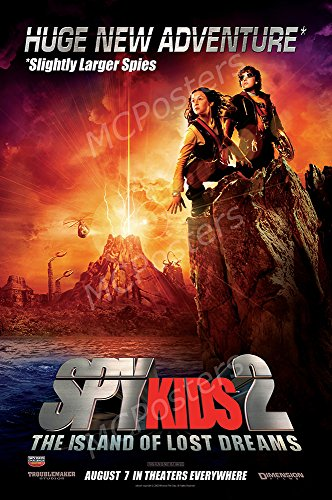 MCPosters Spy Kids 2 The Island of Lost Dreams GLOSSY FINISH Movie Poster - MCP460 (16