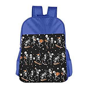 Halloween Party Of Skull Students Durable School Bag Great For Summer Camp