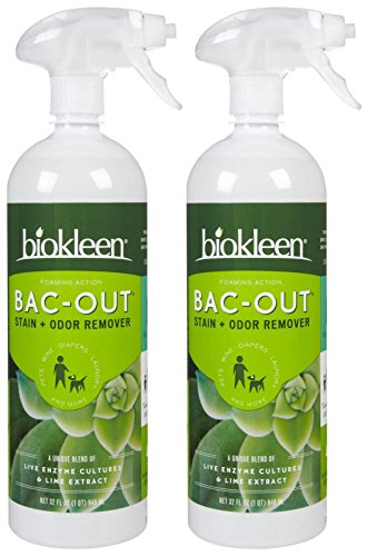 Biokleen Bac-Out Stain and Odor Eliminator Foaming Action Spray - 32 oz - 2 pk