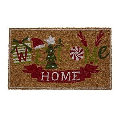Mud Pie Welcome Home Holiday Doormat