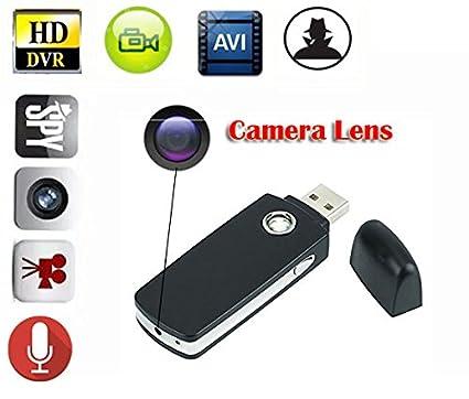 EPTEK @16 GB TF tarjeta + Mini cámara oculta espía portátil Niñera unidad flash USB