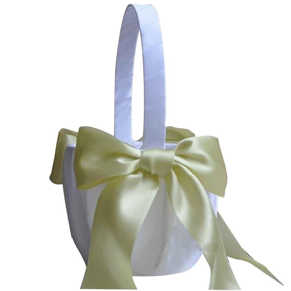 fish canasta de ni/ña de las flores es un accesorio perfecto para su boda