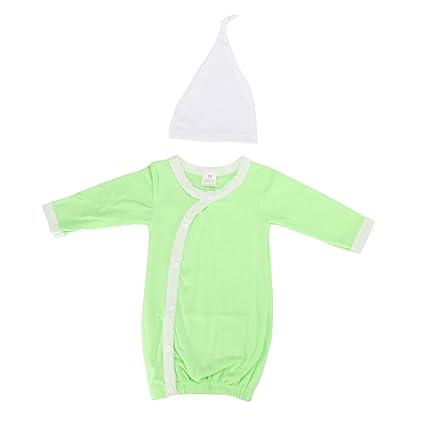 Recién nacido Repetición Saco de dormir Traje de dormir para bebé 0 – 6 meses verde