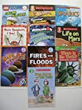 img - for Scholastic Readers L1, 2, 3 (Set of 10) Calling All Cars, Tunnel Trouble, Amazing Dolphins, Sharks, Life on Mars, Solar System, Fires and Floods, Where in the World, Even Steven Odd Todd book / textbook / text book