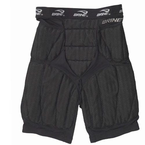 Brine Ventilator Lacrosse Goalie Pant (X-Small, Black)
