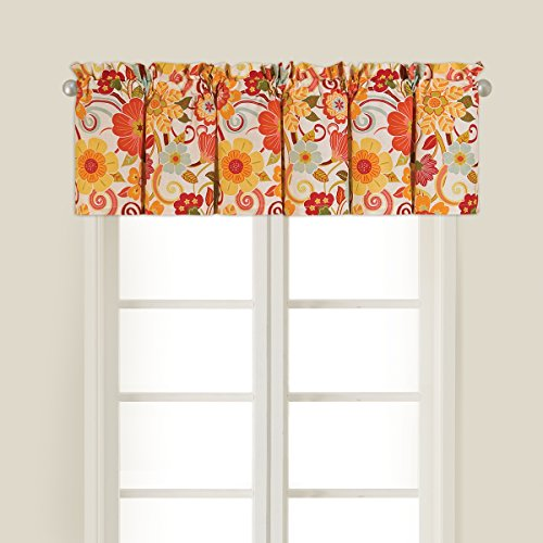 15.5x72 Valance, Giselle by C&F by C&F - Cotton Floral Valance