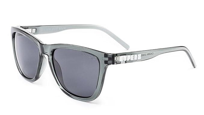 KYPERS Caipirinha, Gafas de Sol Unisex, Clear Grey-Black, 54