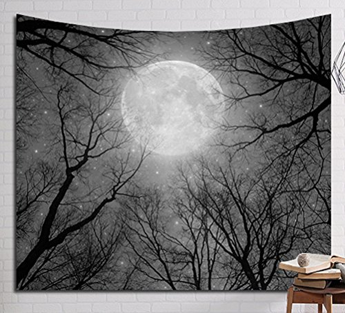 LivebyCare Multi-Size Nature Scene Wall Hanging Tapestry Mural Decoration Tablecloth Lightweight Fabric Decorative Wall Tapestries Decor Art Beach Towel Table Cloth Cover for Kids Boys Girls ()