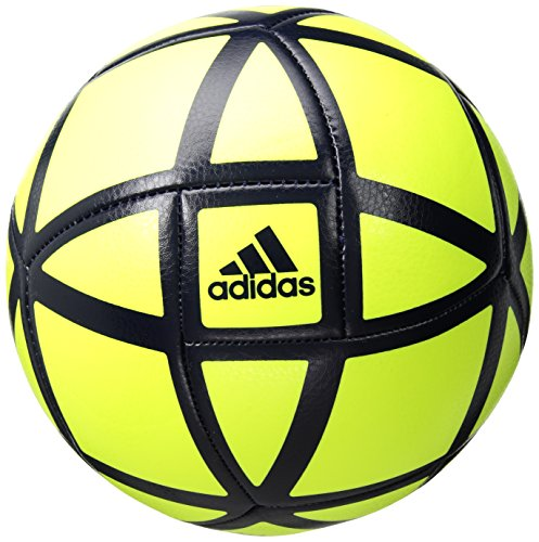 adidas Performance Glider Soccer Ball, Solar Yellow/Legend Ink, Size 5