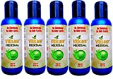 All Natural and Herbal Lotion for Vitiligo Treatment, Repigmentation, Leukoderma by Viticare Herbal, (5 Pack - 25.35 OZ - 750 ml)