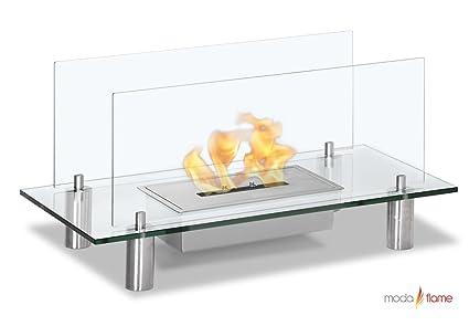 Amazoncom Moda Flame Baza Free Standing Floor Indoor Outdoor