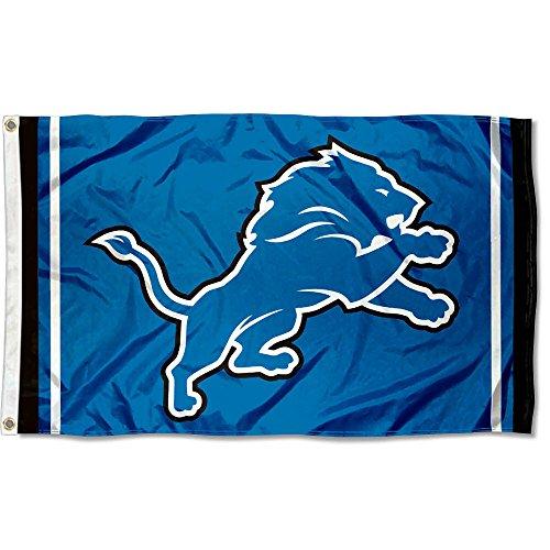 WinCraft Detroit Lions Large NFL 3x5 Flag ()