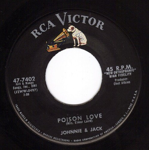 Poison Love/That's The Way The Cookie Crumbles (VG+ 45 rpm) (And Thats The Way The Cookie Crumbles)