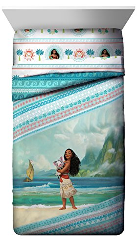 Disney Moana 'The Wave' Reversible Twin Comforter