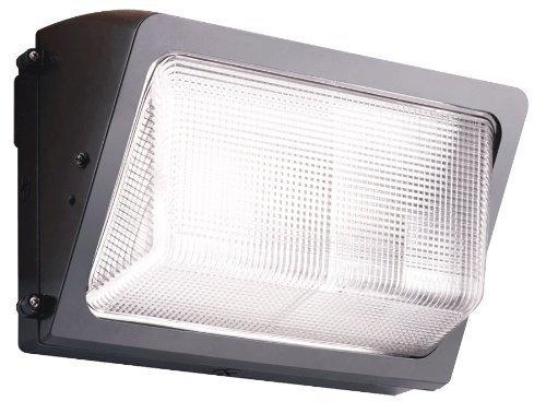 (RAB Lighting WP2H150QTPCS 150-Watt Wallpack Metal Halide QT HPF Glass Lens Lamp 120-Volt Swivel Photocell, Bronze by Rab Lighting)