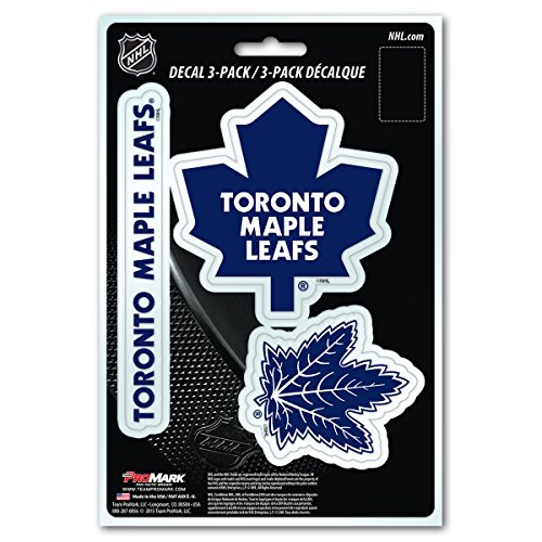 NHL Toronto Maple Leafs Team Decal, 3-Pack