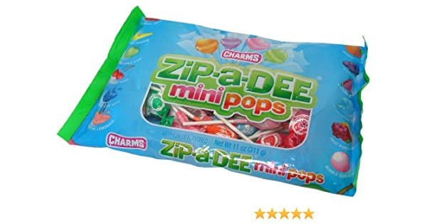 Amazon Zip A Dee Mini Pops 11 Ounce Bags Pack Of 24