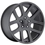 03 dodge ram 1500 rims - OE Performance 107SB 20x9 5x139.7 +25mm Satin Black Wheel Rim
