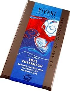 Vivani - Edel Vollmilch Chocolate Bar - 100g