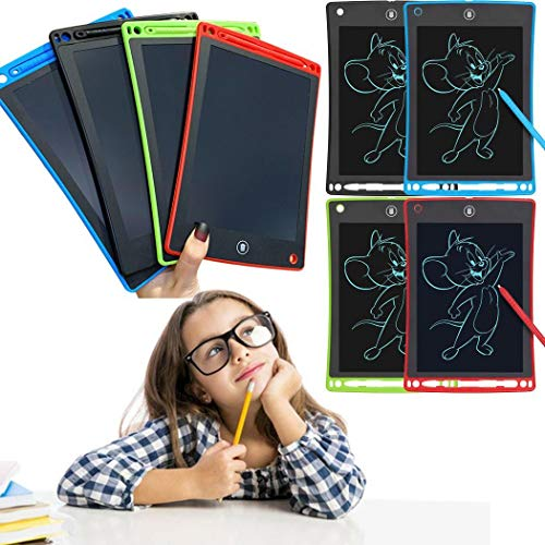 Wenirn Portable Reusable LCD Writing Tablet, Electronic Writing & Drawing Pads Doodle Board, 8.5 inch Handwriting Paper Drawing Tablet Gift for Kids and Adults at Home, School and Office