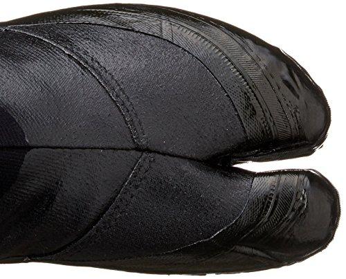 Zapatos Ninja Jikatabi con Suelas de Goma Negro (Jitsuyou) 12 Clips - Directo de Japon (Marugo)