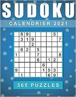 Calendrier 365 Jours de Sudoku 2021: Sudoku un par 365 jours