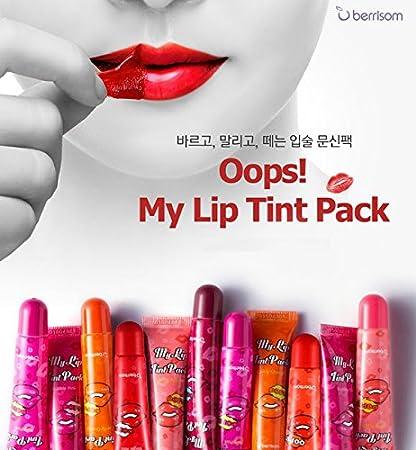 7a609ed08c Amazon.com : BERRISOM Oops My Lip Tint Pack 15g Bubble Pink : Beauty