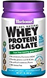 BlueBonnet 100% Natural Whey Protein Isolate Powder, French Vanilla, 1 Pound
