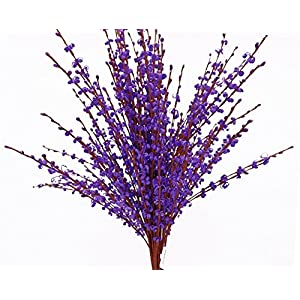 """MISSWARM 10 Pieces 29.5"""" Long of Jasmine Artificial Flower Artificial Flowers Fake Flower for Wedding Home Office Party Hotel Restaurant Patio or Ya 5"""