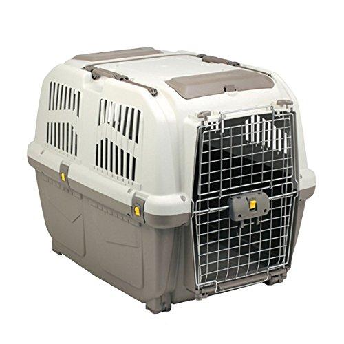 Transportbox SKUDO IATA PRESTIGE 5 Hundebox Flugbox INNOVATIVE ÖFFNUNGSSYSTEM 79 x 58,5 x 65 cm