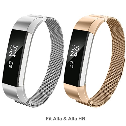 greeninsync compatible fitbit alta bands milanese for fitbit alta hr stainless steel. Black Bedroom Furniture Sets. Home Design Ideas