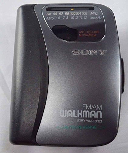 Sony WM FX321 Stereo Walkman Revrse