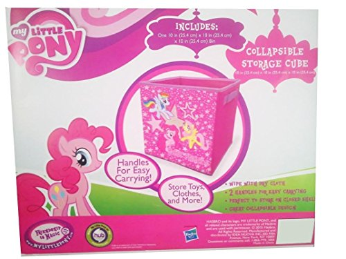 [My Little Pony Collapsible Storage Cube with Handles - 10