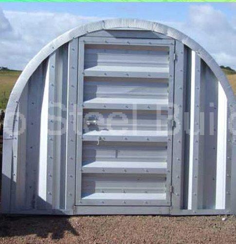 Duro Span Steel M12x15x10 Metal Building Storage Shed Kit