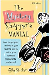 The Mystery Shopper's Manual (5th Edition) by Cathy Stucker (2002-04-04) Paperback